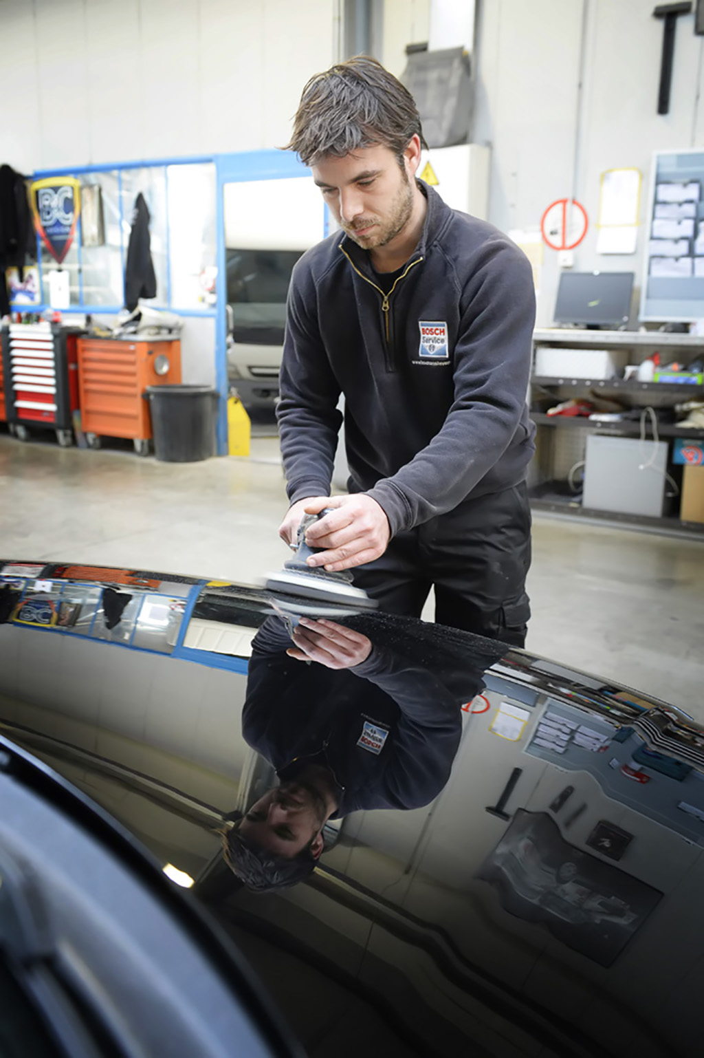 Carrosserie Houman Smart Repair polieren